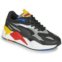 鞋子 球鞋基本款 Puma 彪马 RS-X3 黑色 / 红色 / 黄色