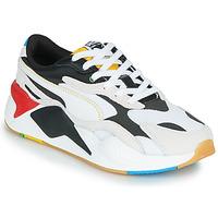 鞋子 球鞋基本款 Puma 彪马 RS-X3 Unity Collection 白色 / 黑色 / 红色