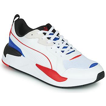 鞋子 男士 球鞋基本款 Puma 彪马 X-RAY 白色 / 蓝色 / 红色