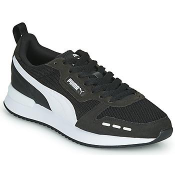 鞋子 男士 球鞋基本款 Puma 彪马 R78 黑色
