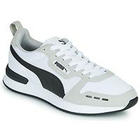 鞋子 男士 球鞋基本款 Puma 彪马 R78 白色 / 黑色