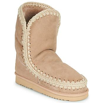 鞋子 女士 短筒靴 Mou ESKIMO 24 米色
