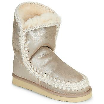 鞋子 女士 短筒靴 Mou ESKIMO 24 金色