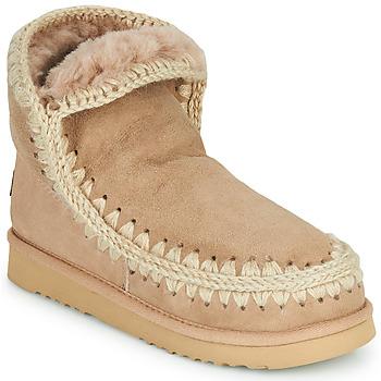 鞋子 女士 短筒靴 Mou ESKIMO 18 米色