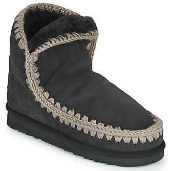 鞋子 女士 短筒靴 Mou ESKIMO 18 黑色