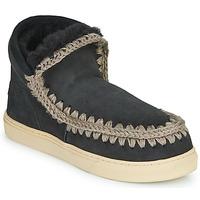 鞋子 女士 短筒靴 Mou ESKIMO SNEAKER 黑色