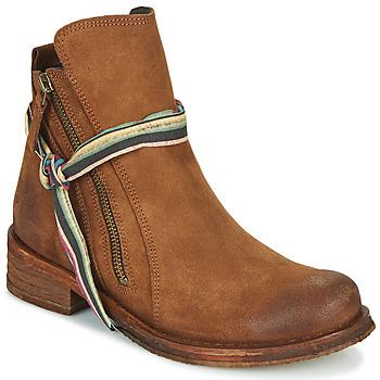 鞋子 女士 短筒靴 Felmini COOPER 驼色