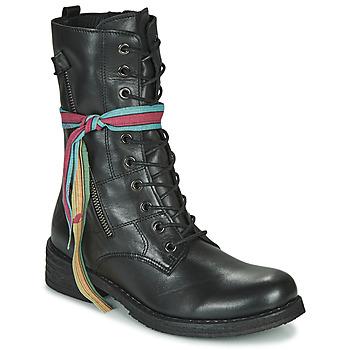 鞋子 女士 短筒靴 Felmini COOPER 黑色