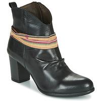 鞋子 女士 短靴 Felmini EMORI 黑色