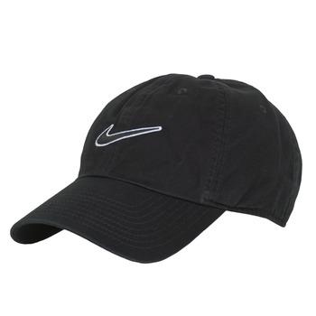 纺织配件 鸭舌帽 Nike 耐克 U NK H86 CAP ESSENTIAL SWSH 黑色