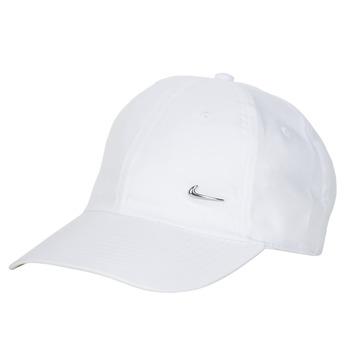 纺织配件 鸭舌帽 Nike 耐克 U NSW H86 METAL SWOOSH CAP 白色 / 银灰色