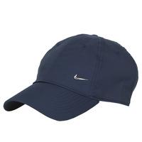 纺织配件 鸭舌帽 Nike 耐克 U NSW H86 METAL SWOOSH CAP 蓝色