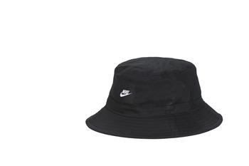 纺织配件 毛线帽 Nike 耐克 U NSW BUCKET CORE 黑色