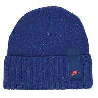 纺织配件 毛线帽 Nike 耐克 U NSW BEANIE CUFFED FUT UTL 蓝色