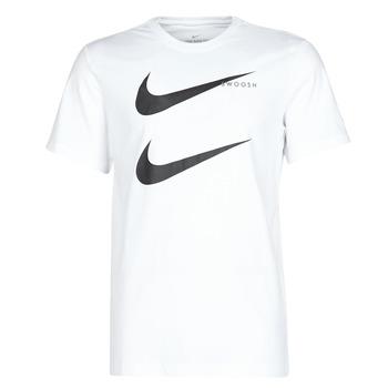 衣服 男士 短袖体恤 Nike 耐克 M NSW SS TEE SWOOSH PK 2 白色