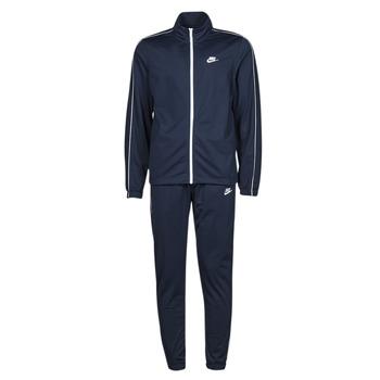 衣服 男士 厚套装 Nike 耐克 M NSW SCE TRK SUIT PK BASIC 蓝色