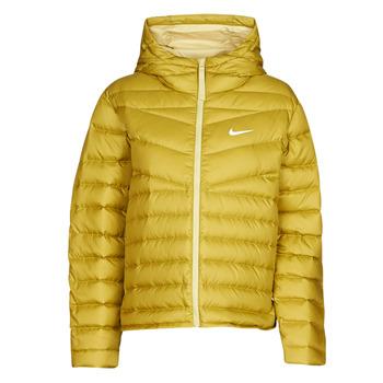 衣服 女士 羽绒服 Nike 耐克 W NSW WR LT WT DWN JKT 卡其色