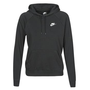 衣服 女士 卫衣 Nike 耐克 W NSW ESSNTL HOODIE PO FLC 黑色