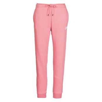 衣服 女士 厚裤子 Nike 耐克 W NSW ESSNTL PANT REG FLC 玫瑰色