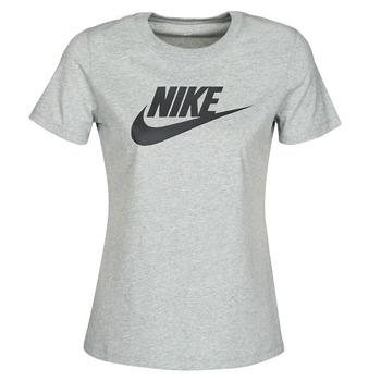 衣服 女士 短袖体恤 Nike 耐克 W NSW TEE ESSNTL ICON FUTUR 灰色