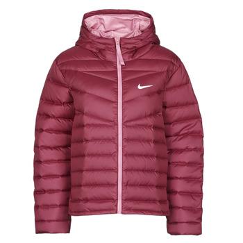 衣服 女士 羽绒服 Nike 耐克 W NSW WR LT WT DWN JKT 波尔多红