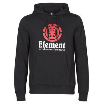 衣服 男士 卫衣 Element VERTICAL HOOD 黑色