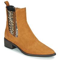 鞋子 女士 短筒靴 Regard BASTIA V3 VEL HAVANE 棕色