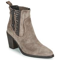 鞋子 女士 短靴 Regard ELCHE V4 VELOURS TALPA 米色