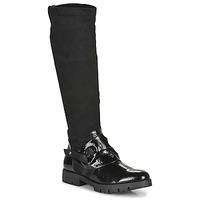 鞋子 女士 都市靴 Regard CANET V1 VERNIS NOIR 黑色