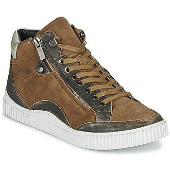 鞋子 女士 高帮鞋 Regard ISLANDE V2 BONGO CHAMOIS 棕色