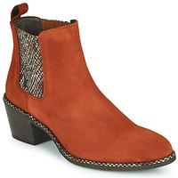 鞋子 女士 短靴 Regard NOISY V3 VELOURS TUILE 红色