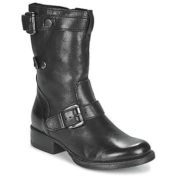 鞋子 女士 短筒靴 Dream in Green NARAMEL 黑色
