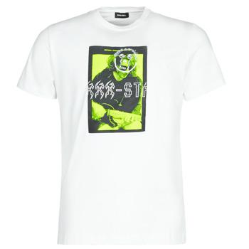 衣服 男士 短袖体恤 Diesel 迪赛尔 T-DIEGO J1 白色