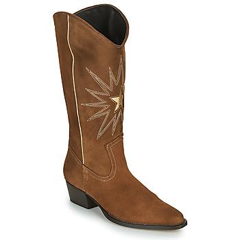 鞋子 女士 都市靴 Fericelli NISCOME 驼色 / 金色