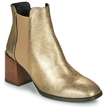 鞋子 女士 短靴 Fericelli NIOCHE 金色