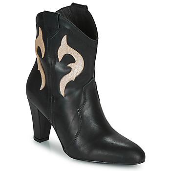 鞋子 女士 短靴 Fericelli NARLOTTE 黑色 / 金色