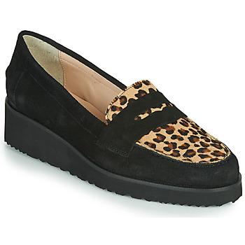 鞋子 女士 皮便鞋 Fericelli NECLAIR 黑色 / 动物纹