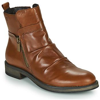 鞋子 女士 短筒靴 Casual Attitude NERMITE 驼色