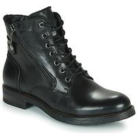 鞋子 女士 短筒靴 Casual Attitude NUNAISE 黑色