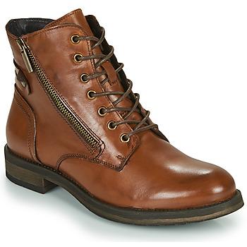 鞋子 女士 短筒靴 Casual Attitude NUNAISE 驼色