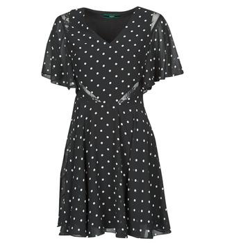 衣服 女士 短裙 Guess ELLA DRESS 黑色 / 白色