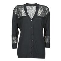 衣服 女士 羊毛开衫 Guess IRENE CARDI SWTR 黑色