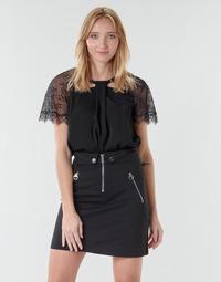 衣服 女士 女士上衣/罩衫 Guess GERDA 黑色