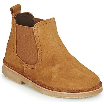 鞋子 儿童 短筒靴 Citrouille et Compagnie HOVETTE 驼色