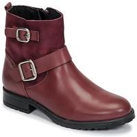 鞋子 女孩 短筒靴 Citrouille et Compagnie NIVOLE 波尔多红