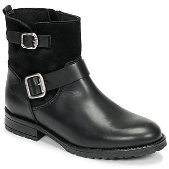 鞋子 女孩 短筒靴 Citrouille et Compagnie NIVOLE 黑色