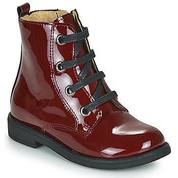 鞋子 女孩 短筒靴 Citrouille et Compagnie HEMANU 波尔多红