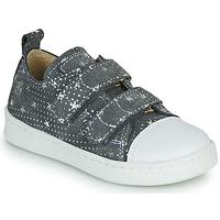 鞋子 女孩 球鞋基本款 Citrouille et Compagnie NADIR 灰色 / 银灰色