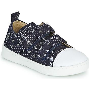 鞋子 女孩 球鞋基本款 Citrouille et Compagnie NADIR 海蓝色 / 银灰色