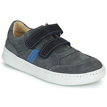 鞋子 男孩 球鞋基本款 Citrouille et Compagnie NESTOK 灰色 / 海蓝色
